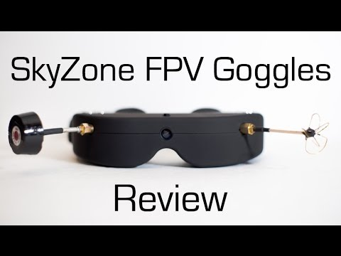 SkyZone FPV Goggles Review - RCTESTFLIGHT -