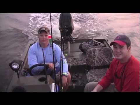 Mississippi Saltwater Fishing HD- At LaFrance Fishing Camp- 5/26/12