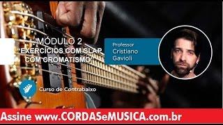 download musica Contrabaixo - Exercícios com Slap com Cromatismo - Cordas e Música