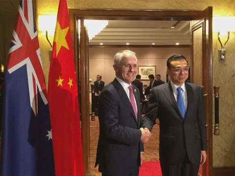 Chinese Premier Li holds annual meeting with Australian PM