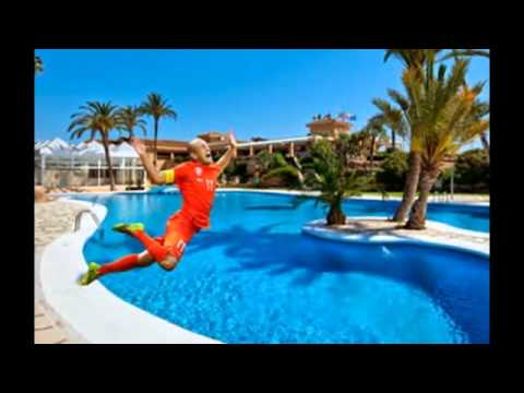 Arjen Robben's dive  Best Meme Must Watch but also inspirational at the end