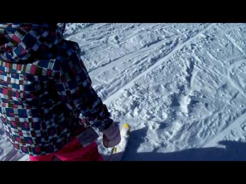 """My 5 year old skis the """"downhill"""" in New Mexico"""