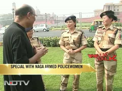 Walk the Talk with Naga armed policewomen