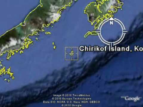 KL7RRC/P - CHIRIKOF ISLAND - NA - 235 - IOTA  TEST 2010
