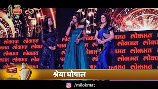 Shreya Ghoshal Live Singing Ghoomer Song From Padmaavat Maharashtrian Awards 2018