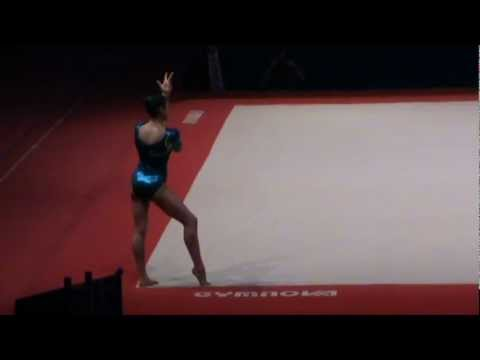 Canadian Gymnast to watch: Victoria Moors, 1st on FX at Massilia 2011