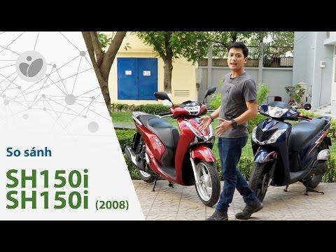Xe.Tinhte.vn   Honda SH150i vs SH 150i 2008 - Chấm dứt huyền thoại SH Ý