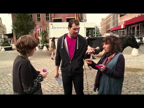 Billy on the Street: Cash Cow with Lena Dunham and Elena!