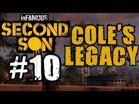 Infamous Second Son Walkthrough Part 10 - Cole's Legacy Part 1 [PS4 Gameplay]