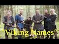 How Viking Names Work
