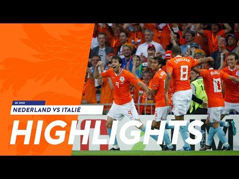 Highlights Nederland - Italië (09/06/2008)