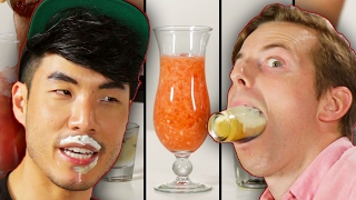 The Try Guys Sexy Alcohol Taste Test