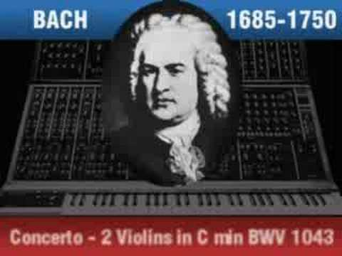 Synthesized Bach in W. Carlos Style - Stereo