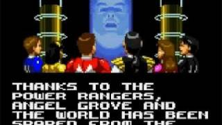 Mighty Morphin Power Rangers The Movie Ending Game Gear