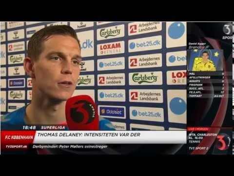 Daniel Agger post Brøndby IF 0-0 FC København Interview 06/04/15