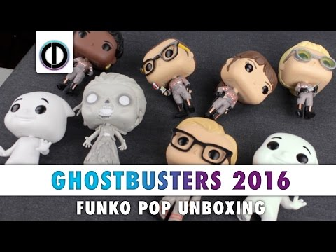 Ghostbusters [2016] - Funko Pop (Unboxing)