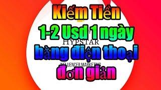 Kiếm Tiền Với HypStar ViGo Video 1phút 1 đô Từ Điện Thoại Di Động