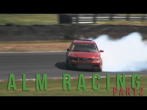 ALM Racing raw footage PART 2 (AUDI S4, S2 4 wheel drift at Gatebil)