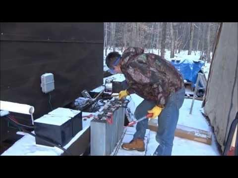 Testing Old Forklift Batteries For Tiny House Solar Power