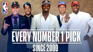 Every Number One Pick Since 2000! | From Kenyon Martin to Zion Williamson