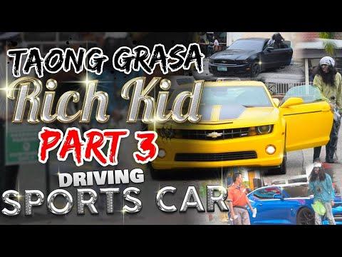 """""""Taong Grasa (Homeless) / Rich Kid"""" PRANK PART 4 (Driving Sports Car) thumbnail"""