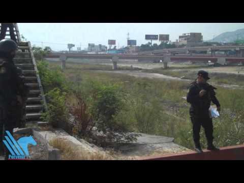 Investigan muerte de indigente en Río Santa Catarina