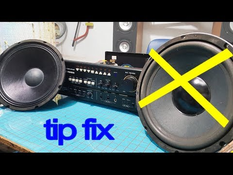2 tips amp, Amplifier one channel not working  fix amplifier only playing through one speaker thumbnail