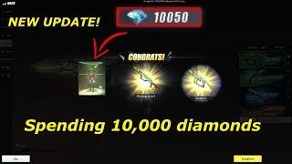 NAKUHA KO ANG ALIEN : SPENDING 10,000 DIAMONDS IN RULES OF SURVIVAL