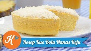 Resep Kue Bolu Nanas Keju