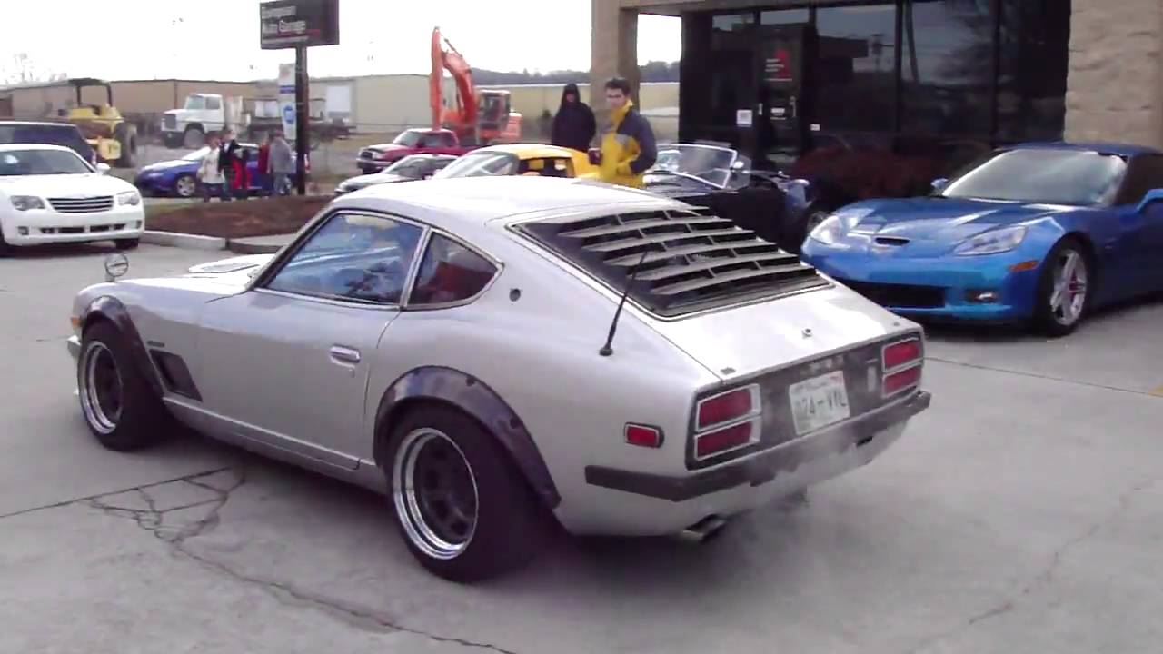 1st Gen Datsun (Nissan) 280Z / S30Z @ Cars and Coffee Meet ...