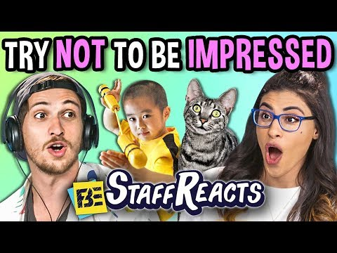 Try Not To Be Impressed Challenge (ft. FBE Staff)