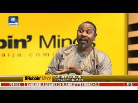 Rubbin Minds: Entertainment Interview With Saheed Balogun Pt. 1