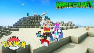 Minecraft Pixelmon+ Tập 59: Cùng Noob yeti Thu phục thế giới pokemon