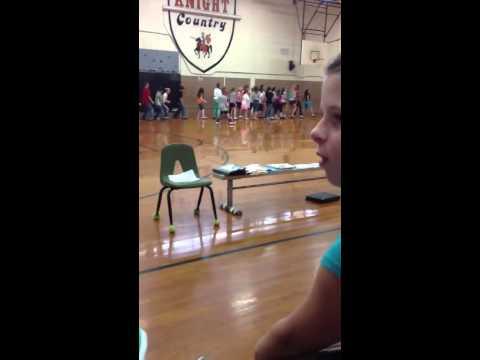 North Davidson middle school dancers