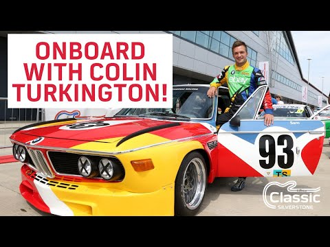 Colin Turkington Touring Car Onboard 2014 Silverstone Classic