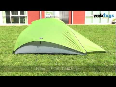 The Nemo Espri Tents - Flexible. lightweight backpacking tents.