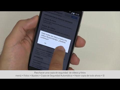 Copia de seguridad de todos los datos de Android