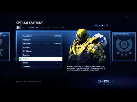 Halo 4 Tips & Tricks | Stalker Specialization Details | Unlock Armor & Nemesis Support Upgrade