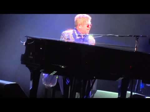 """Piano Solo Intro & Rocket Man"" Elton John@Santander Arena Reading, PA 2/28/15"