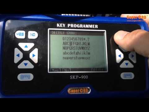 PSA Peugeot Citroen Remote Key for SKP-900 Key Programmer