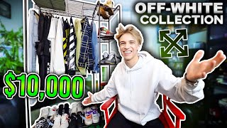 MY ENTIRE OFF WHITE COLLECTION! ($10,000 CLOTHES/SNEAKERS)