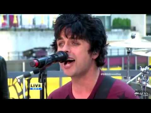 Green Day - Holiday @ Good Morning America