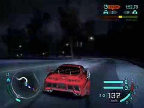 Need For Speed Carbon Zabawa Z Policją