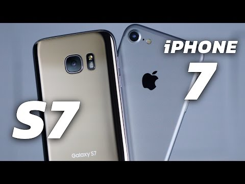 iPhone 7 vs Galaxy S7: Camera Smackdown!