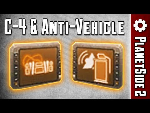 C-4 & Anti-Vehicle Grenades Review (PlanetSide 2)