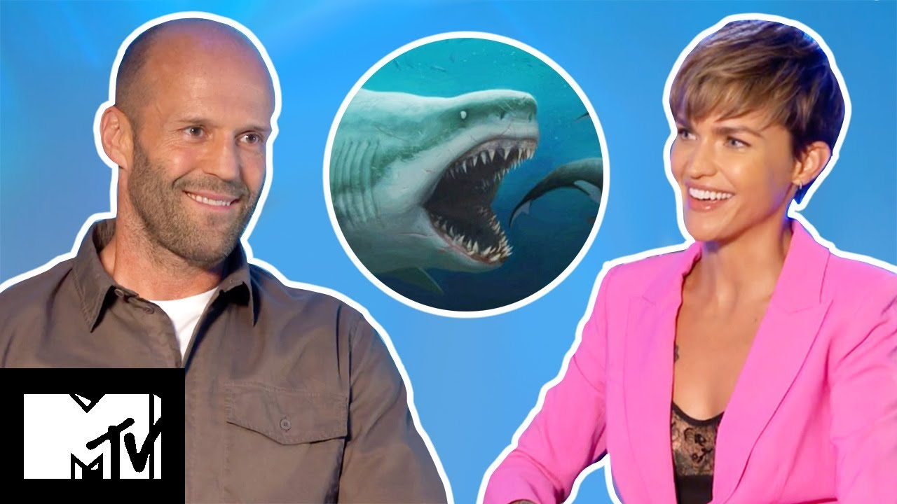 THE MEG Cast Reveal Funniest Moments, Bloopers & RUBY ROSE Superhero Details | MTV Movies