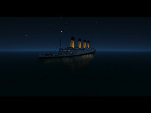 Titanic Untergang/Sinking Virtual Sailor [HD][Inception: Time]