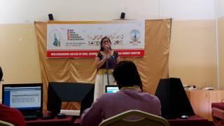 Malayalam poetry recitation ( second prize )in Sargotsav 2017 by Raga Kannan