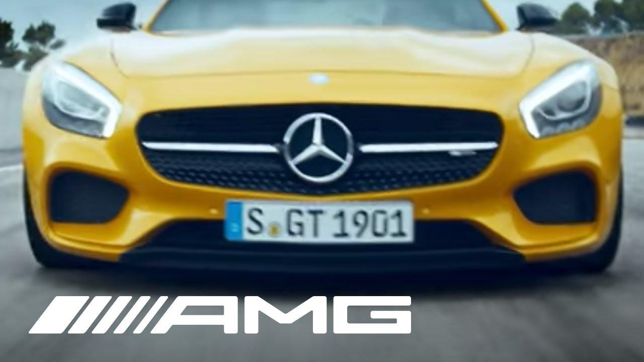 Publicité Mercedes AMG GT – voiture de rêve
