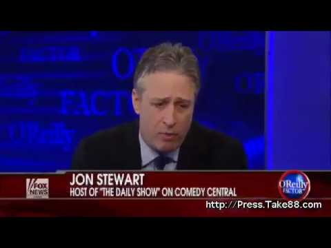 Bill O'Reilly interview with Jon Stewart Part 1 of 5